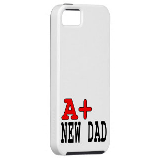 Funny Gifts for New Dads : A+ New Dad Tough iPhone 5 Case