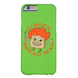 Funny Ginger Bread Man Christmas Pun Barely There iPhone 6 Case