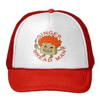 Funny Ginger Bread Man Christmas Pun Cap