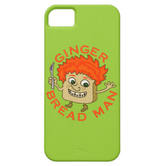Funny Ginger Bread Man Christmas Pun iPhone 5 Case