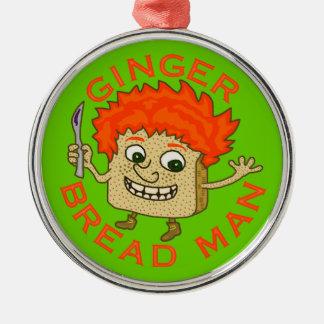 Funny Ginger Bread Man Christmas Pun Christmas Ornament