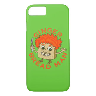 Funny Ginger Bread Man Christmas Pun iPhone 7 Case