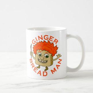 Funny Ginger Bread Man Christmas Pun Mug