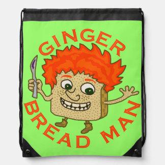 Funny Ginger Bread Man Christmas Pun Rucksacks