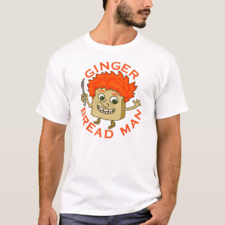 Funny Ginger Bread Man Christmas Pun T-Shirt