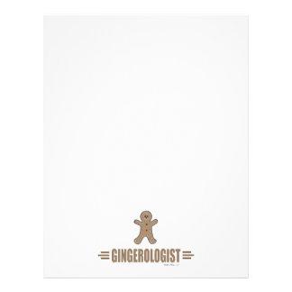 Funny Gingerbread 21.5 Cm X 28 Cm Flyer