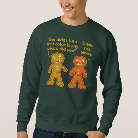 Funny Gingerbread Fake Tan Christmas Ugly Sweatshirt