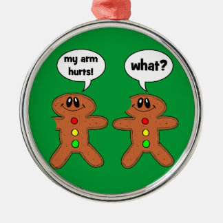 funny gingerbread man christmas ornament