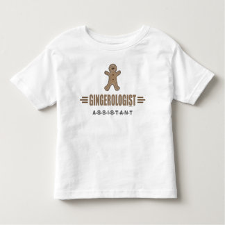 Funny Gingerbread Toddler T-Shirt
