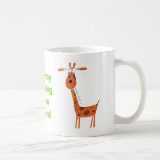 Funny Giraffe Mug
