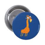 Funny Giraffe Pins