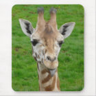 Funny Giraffe Sticking Out Tongue! Mouse Mat