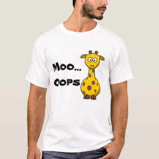 Funny Giraffe T-Shirt humour
