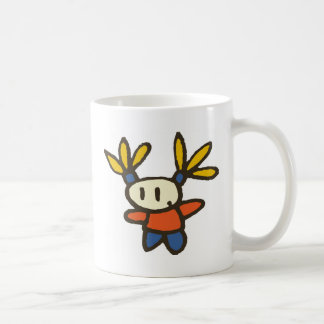 Funny Girl Basic White Mug