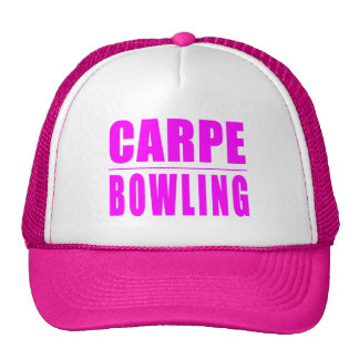 Funny Girl Bowlers Quotes  : Carpe Bowling Cap