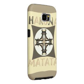 Funny Girly Hakuna Matata Samsung Galaxy S6 Cases