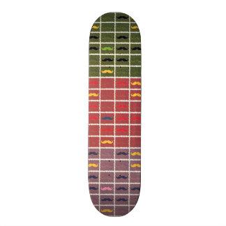 Funny Girly Mustache 21.6 Cm Old School Skateboard Deck
