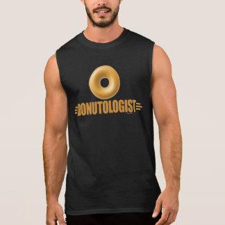 Funny Glazed Donut Lover Sleeveless T-shirt