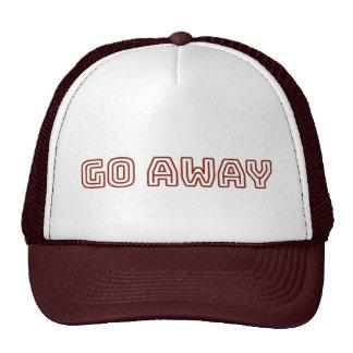 Funny Go Away Sarcastic Hat