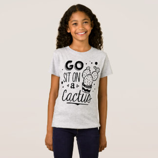 Funny Go Sit on a Cactus Jersey Shirt