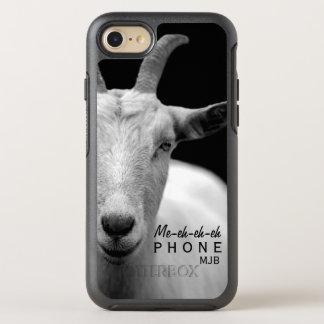 "Funny Goat Animal Sound ""My Phone"" monogram OtterBox Symmetry iPhone 8/7 Case"