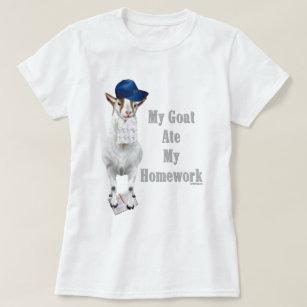 cd70c2ee4b Funny Goat Cartoon T-Shirts & Shirt Designs | Zazzle UK