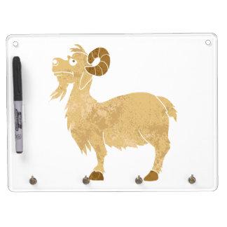 funny Goat cartoon. Dry-Erase Board