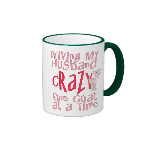 Funny Goat Design for Women Coffee Mugs