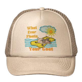 Funny Goat Floats Your Goat Cap