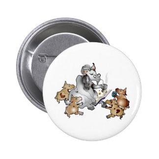Funny Goat GrandPa GrandKids Pinback Buttons