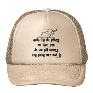 Funny Goat Sayings Cap