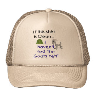 Funny Goat SHirts Cap