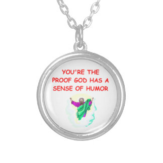 funny god pendant