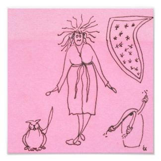 Funny Goddess Cat Gak Photograph
