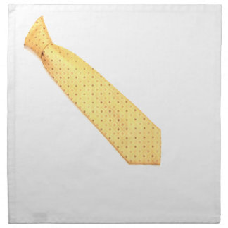 Funny Gold Tie Napkin