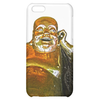 Funny Golden Laughing Buddha iPhone 5 Case