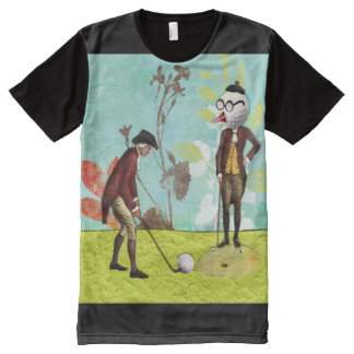 funny golf All-Over print T-Shirt