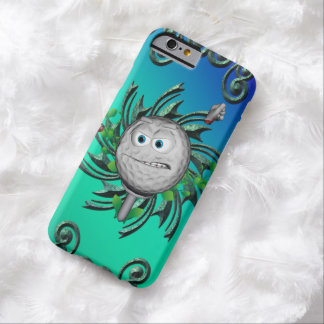 Funny golf ball barely there iPhone 6 case