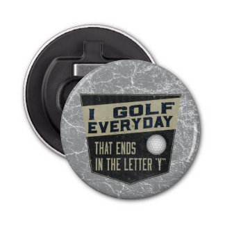 Funny Golf Bottle Opener