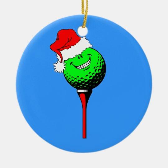 funny golf Christmas Christmas Ornament