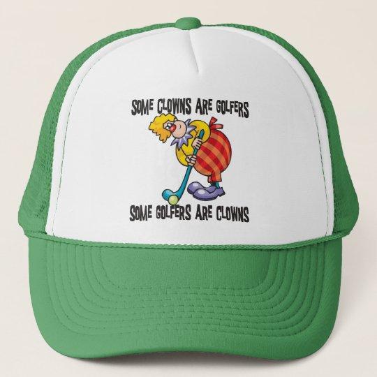 Funny Golf Clown Golfing Cap