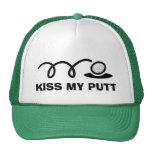 Funny golf hats | Kiss my putt
