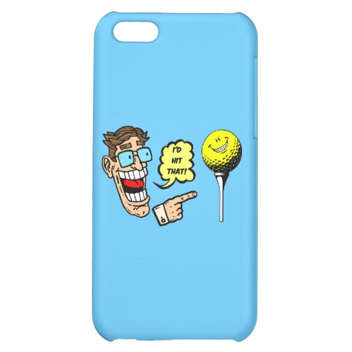 funny golf iPhone 5C covers
