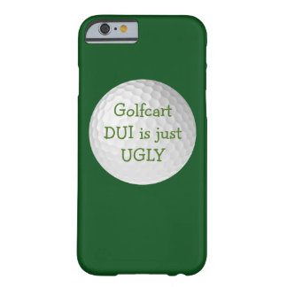 Funny Golf Smartphone Case Barely There iPhone 6 Case