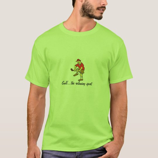 Funny Golf T Shirt