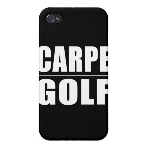 Funny Golfers Quotes Jokes : Carpe Golf iPhone 4/4S Cases