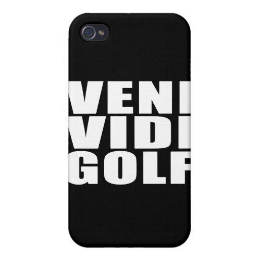 Funny Golfers Quotes Jokes : Veni Vidi Golf iPhone 4/4S Case