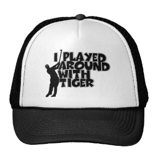 Funny golfing hats
