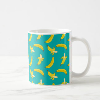 Funny Gone Bananas illustrated pattern Coffee Mug