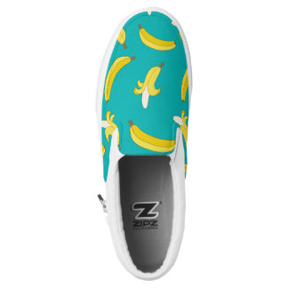 Funny Gone Bananas illustrated pattern Printed Shoes